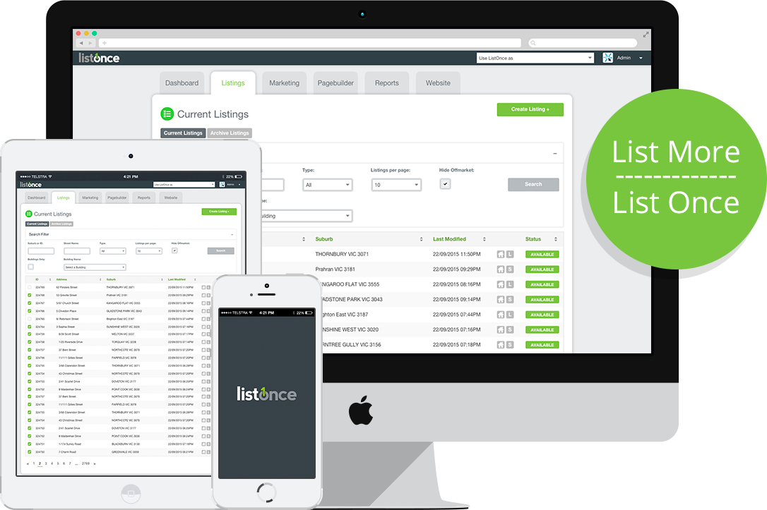 ListOnce Software
